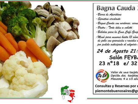Festa italiana a La Plata - Bagna Cauda 2019