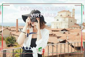 Regístrate en la ciudad como turista virtual y comparte tu cotidianidad con nosotros. Donde quiera que estés, estás en Italia.