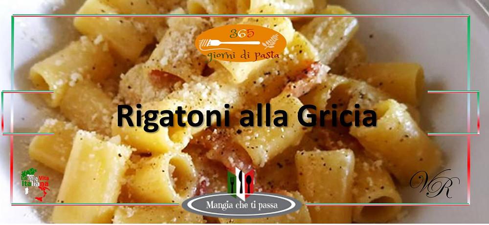 Rigatoni alla Gricia, Un plato de la cocina italiana tradicional