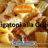 Pasta alla Gricia - 365 días de pasta