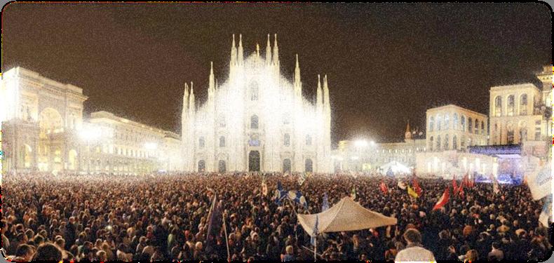 La semana de la música en Milán el año pasado. Un escenario de lujo.