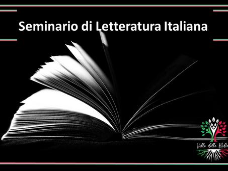 Valle delle Radici ti fa un regalo per partecipare al seminario di letteratura italiana