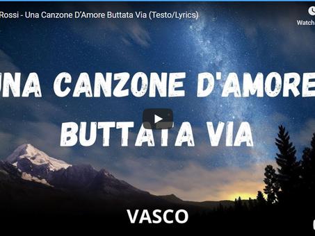Italia inizia il 2021 con un nuovo singolo di Vasco Rossi - Una canzone d'amore buttata via