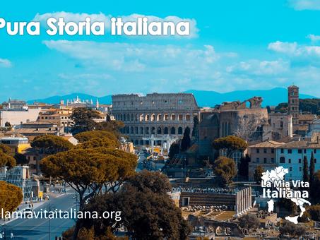 Un ponte diretto con la storia italiana. Una presentazione che segna un percorso differente
