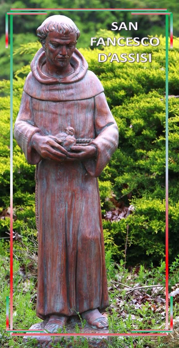 San Francesco d'Assisi - Proclamato Patrono d'Italia il 18 giugno del 1939