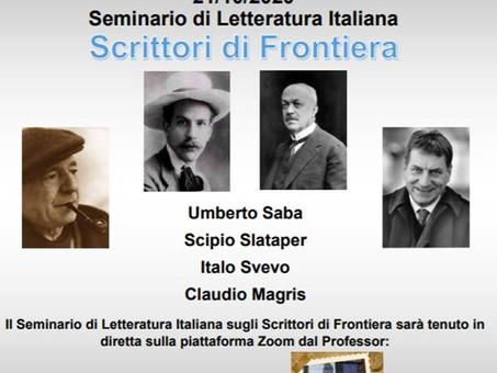 XX Settimana della lingua italiana nel mondo - Seminario di letteratura