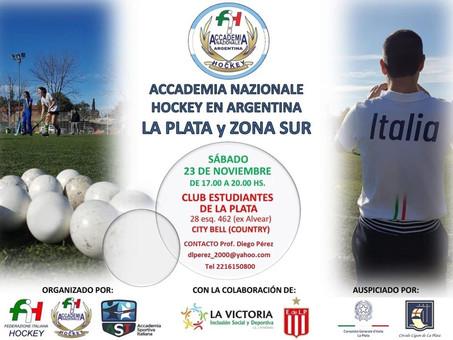 Raduno Accademia Nazionale  Hockey in Argentina - Dedicato ai giovani - Entrata gratuita