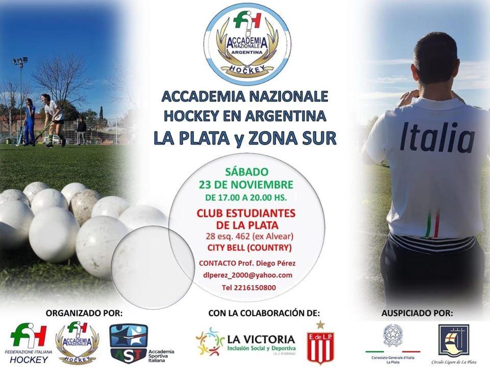 Raduno Accademia Nazionale Hockey Argentina - La Plata