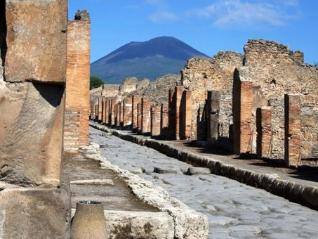 Notizie con esercizi - Rinvengono calco di cavallo a Pompei- it.18.000115