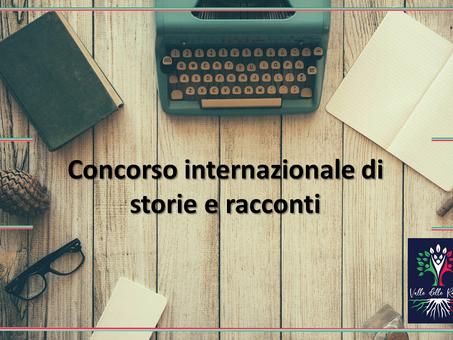 Concorso internazionale di storie e racconti. Un'occasione unica per gli scrittori di tutto il mondo