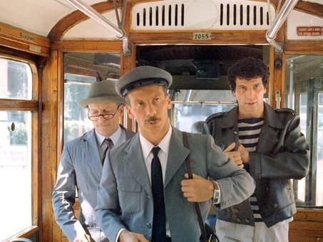Andiamo al cinema oggi? Così è la vita. Film del famoso trio comico ITALIANO Aldo Giovanni e Giacomo