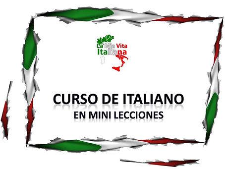 Curso de Italiano en Mini lecciones