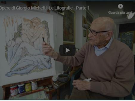 Lo youtuber più longevo della rete è italiano - ha 107 anni e insegna pittura online
