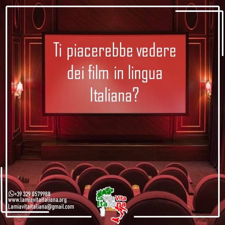 ¿Te gustaría ver una película en lengua italiana?