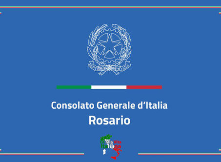 """Avviso di assunzione di impiegati a contratto nel """"Consolato Generale d'Italia"""" a ROSARIO"""