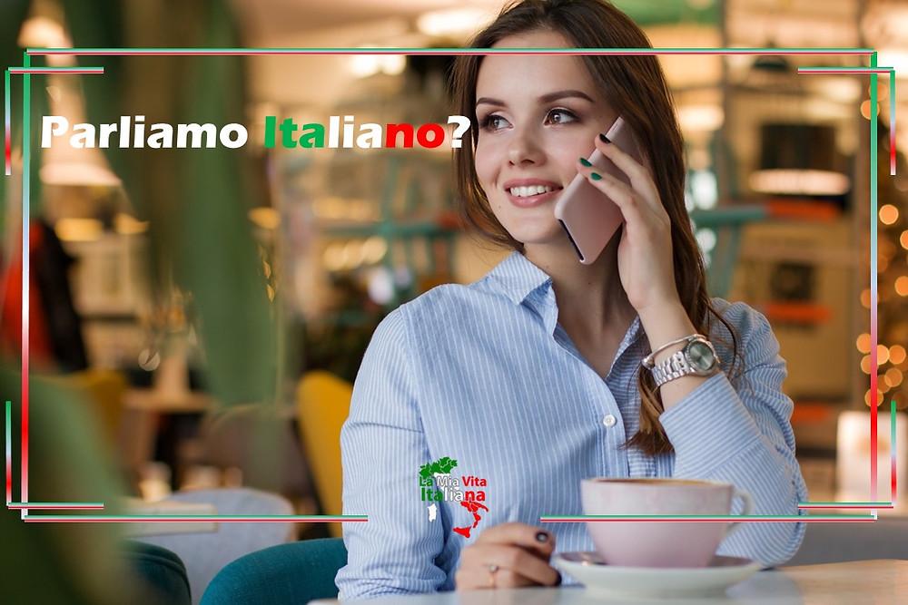 Perfeziona l'Italiano parlando tutti i giorni con professori nativi. Scrivici +39 329 057 9988