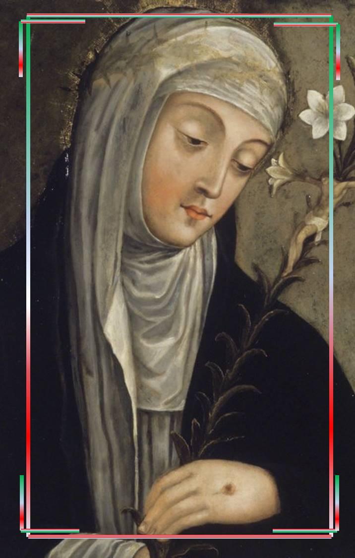Santa Caterina da Siena - Patrona d'Italia -