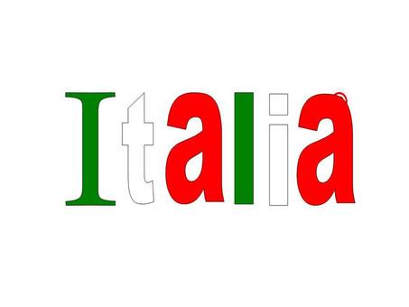 Dov'è nata la parola Italia?