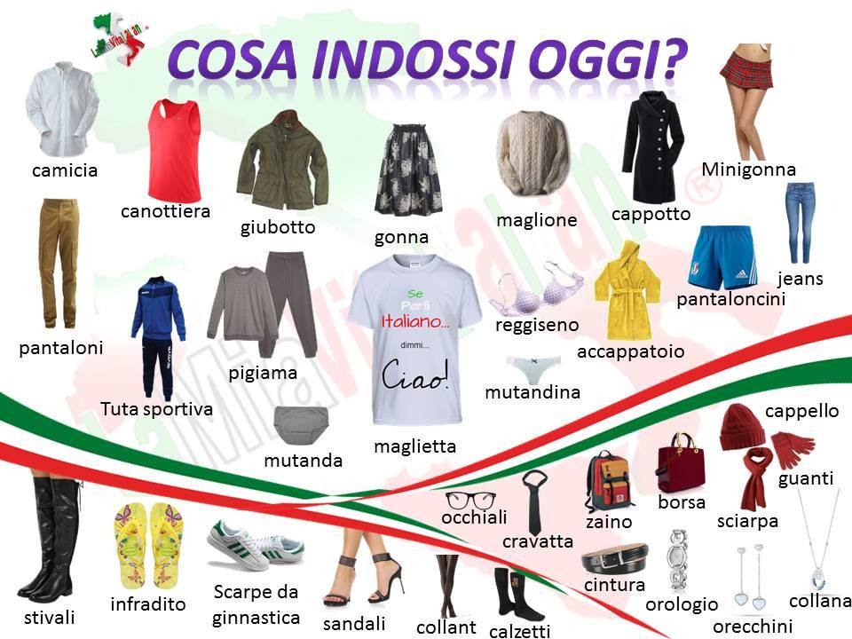 indumenti e accessori