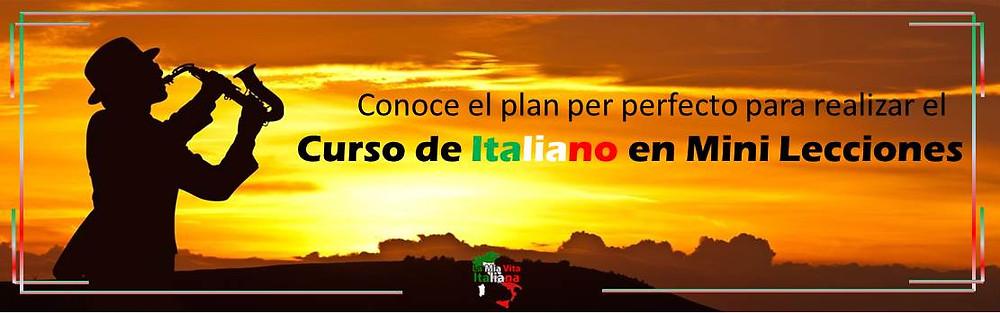 Curso de Italiano en Mini lecciones por La mia vita Italiana