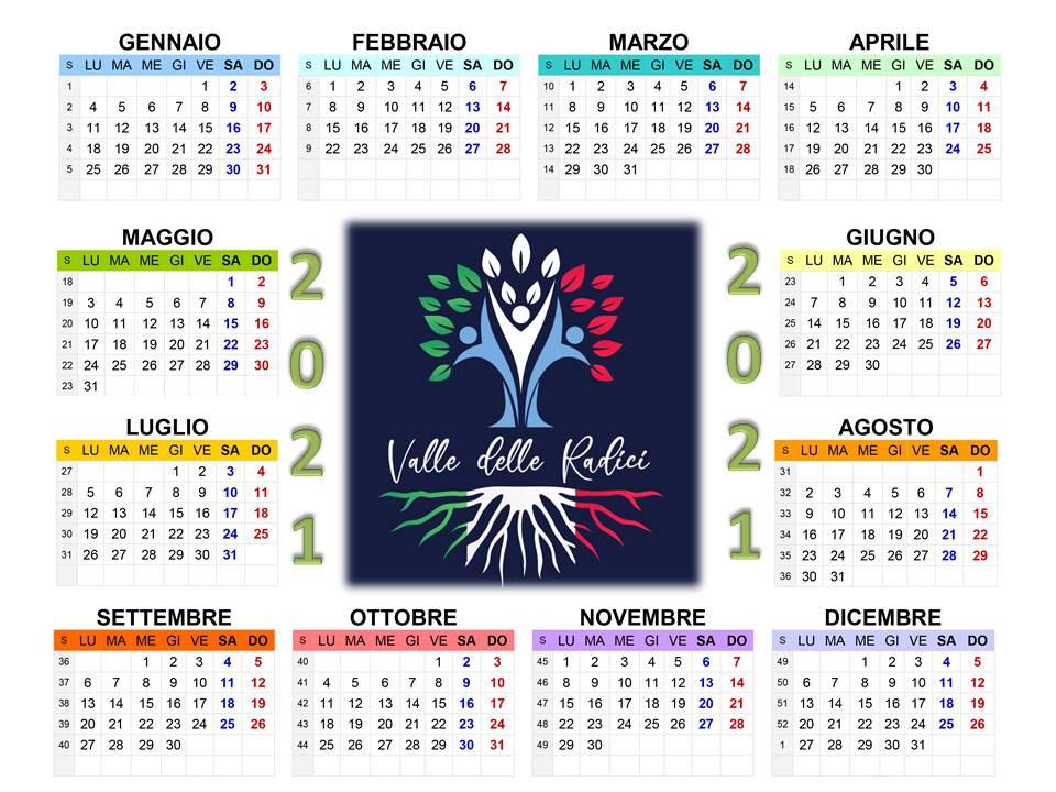 Calendario 2021 per gli argentini