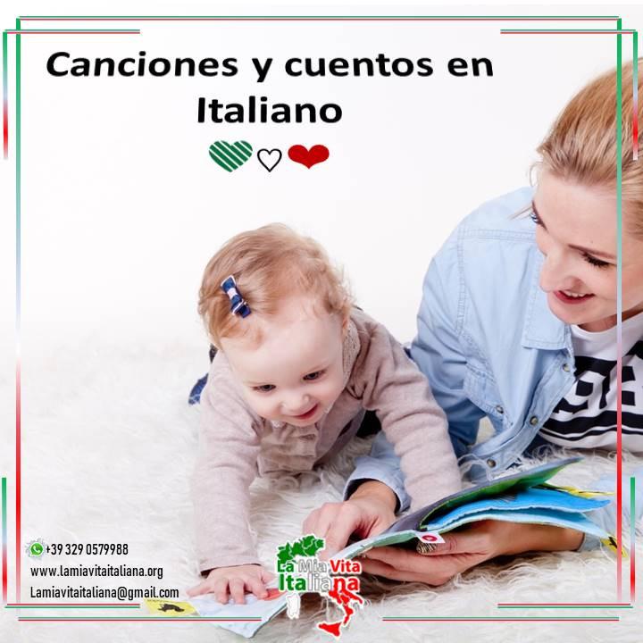 Canciones y cuentos en Italiano para disfrutar en familia