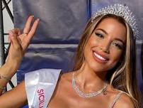 Miss Universo Italia tiene una sonrisa siciliana. Miss Universe Italy 2021