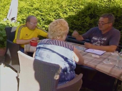 Skat-Urlaub in der Kleingartenanlage Rostock-Ost