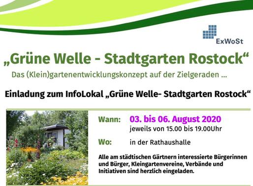 Grüne Welle - Stadtgarten Rostock