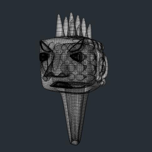 New Age Punk head design.