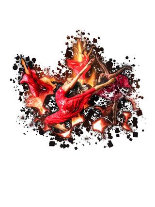 Dancing Flames.  11.2.19