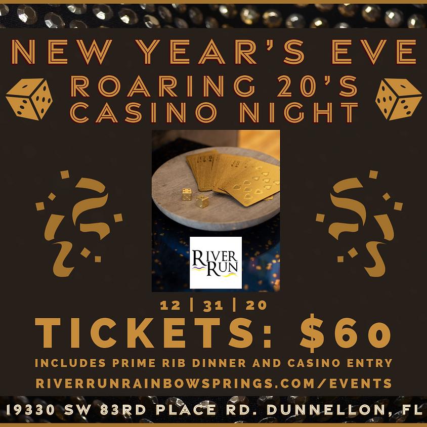 New Years Eve - Roaring 20's Casino Night