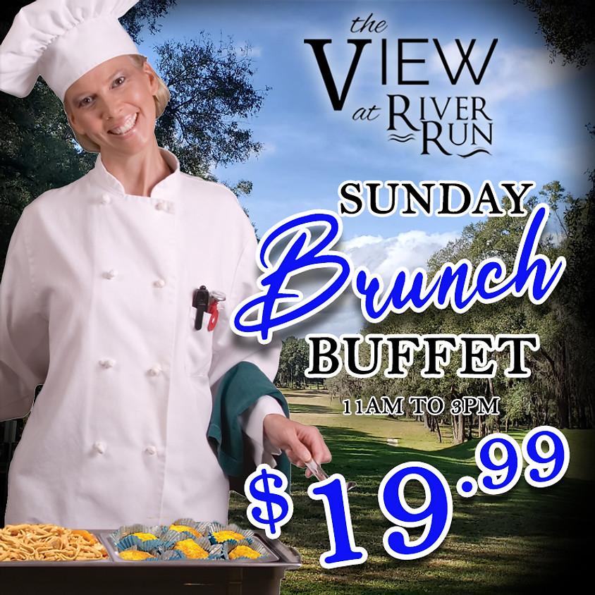 Sunday Brunch Buffet - The View