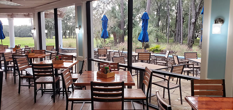 Indoor and Outdoor Dining