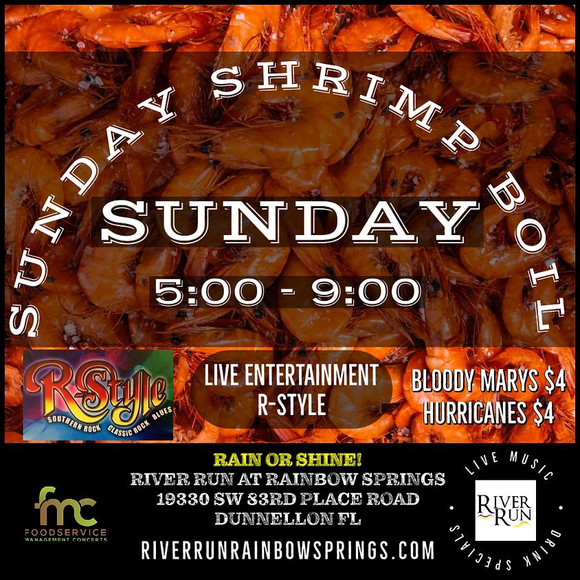 Sunday Shrimp Boil!