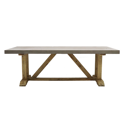 Lorenz Concrete Dining Table - 220cm