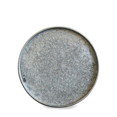 Large metal serving platter