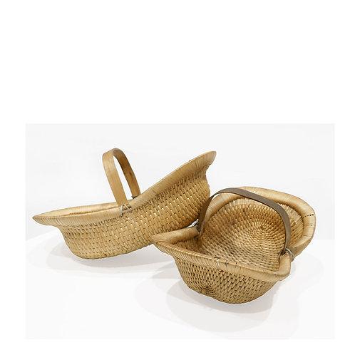 Original Cane Basket - With Handle