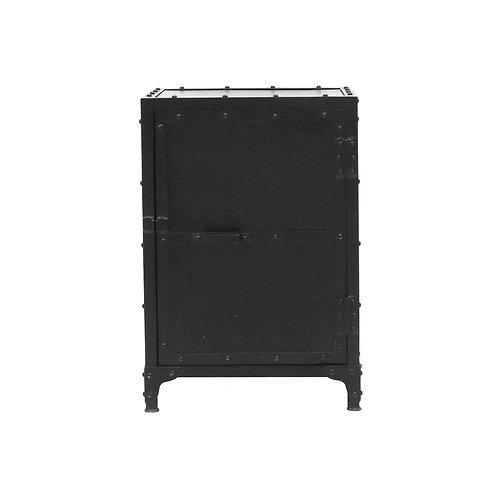 Bank Iron Bedside Table - Iron Door