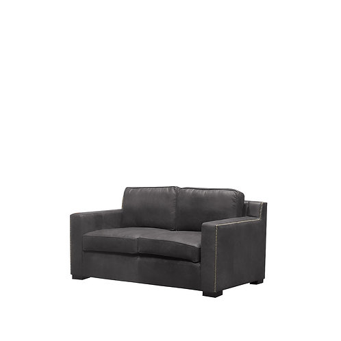 Vasto Sofa - 2 Seater, Aged Onyx