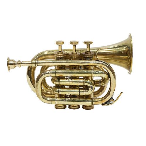 Brass Pocket Trumpet