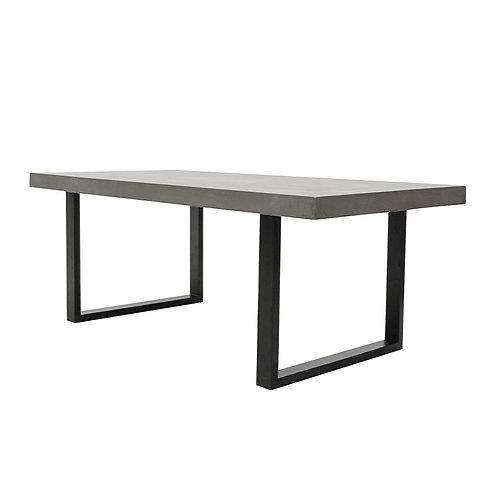 Nero Concrete Table 200cm