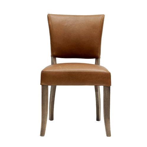 Crane Dining Chair Leather - Tan