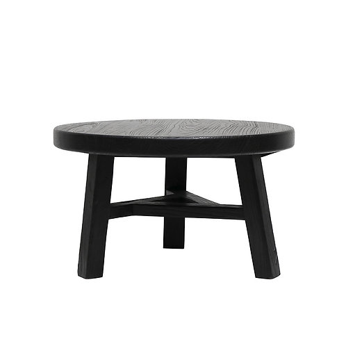Parq Coffee Table - Low, Black