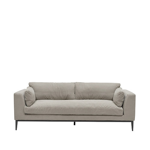 Tyson Sofa 3 Seater - Grey