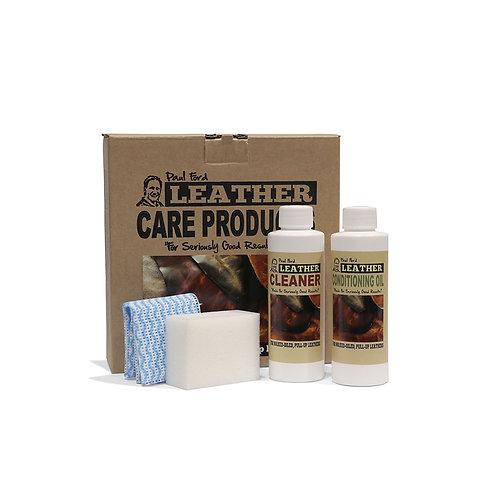 Paul Ford Wax & Oil Twin Pack