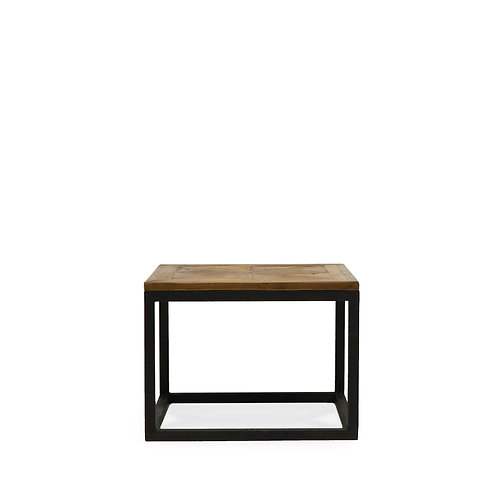 Pine Inlay Side Table