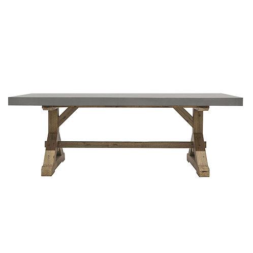 Trestle Concrete Table 220cm