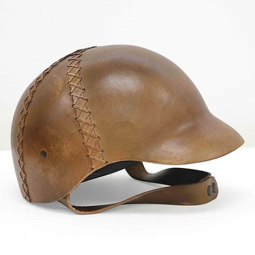 Leather Helmet -