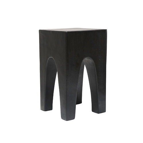 Suar Jami Side Table - Black
